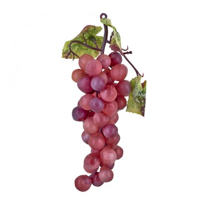 ARTIFICIAL GRAPE RED 15.5CM