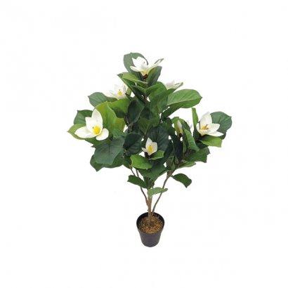 ARTIFICIAL PLUMERIA PLANT CREAM 107CM - 1