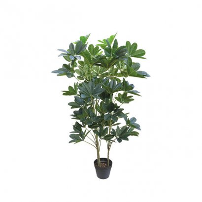ARTIFICIAL SCHEFFLERA PLANT REAL TOUCH 128CM - 1
