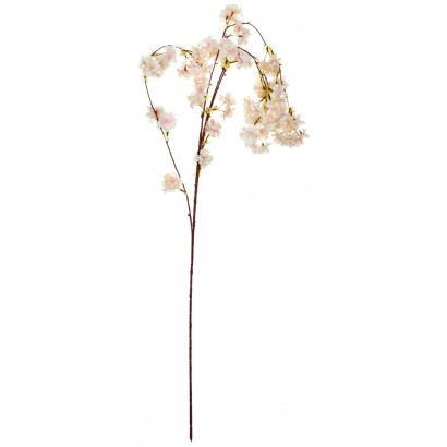 ARTIFICIAL ALMOND BRANCH LIGHT PINK 95CM - 1