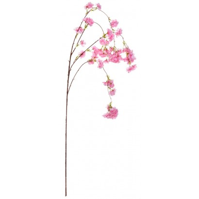 ARTIFICIAL ALMOND BRANCH FUCHSIA 95CM - 1