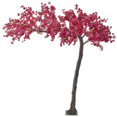 ARTIFICIAL BOUGAINVILLEA TREE FUCHSIA 320CM - 1