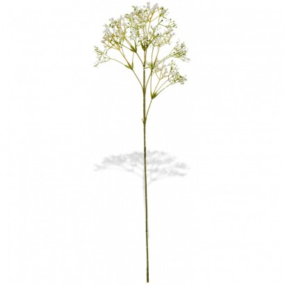 ARTIFICIAL GYPSOPHILA BRANCH WHITE 60CM - 1