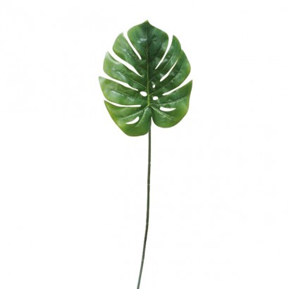 ARTIFICIAL MONSTERA BRANCH REAL TOUCH 95CM - 1