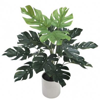 ARTIFICIAL MONSTERA PLANT REAL TOUCH 40CM - 1
