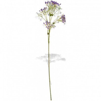 ARTIFICIAL GYPSOPHILA BRANCH PURPLE 60CM - 1