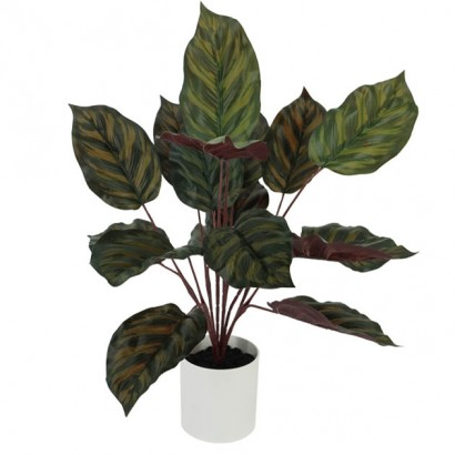 ARTIFICIAL POTHOS PLANT TWO COLOURS REAL TOUCH 40CM - 1